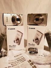 Canon IXUS 185/ELPH 180 20MP 8x Optical Zoom Digital Camera - Silver