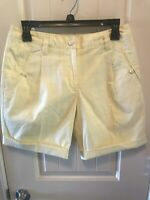 NWT Lily's of Beverly Hills Women's Golf Shorts Plaid Size 4 Lined Pockets $102