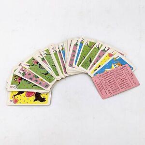 Vintage HEARTS Deck Of Cards Whitman Monkeys Animals Ephemeral