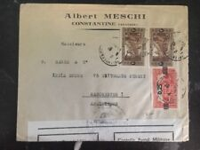 1946 Constantine French Algeria Commercial Censored cover to Manchester England