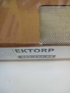 New Original IKEA cover set for Ektorp armchair  in NORDVALLA DARK BEIGE RARE