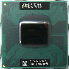 Intel Core 2 Duo Laptop cpu mobile T7400 SL9SE 4M Cache, 2.16 GHz, 667 MHz FSB