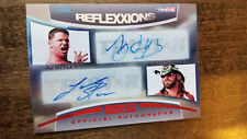 2012 TRISTAR TNA REFLEXXIONS DUAL AUTO CARD AJ STYLES & JAMES STORM 20/25 R2-11