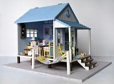 Dollhouse Miniature DIY KIT-  A-017, HAPPY COAST CABIN