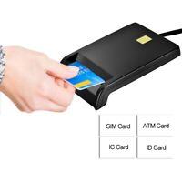 INTELIGENTE SMART LETTORE READER CARD USB 2.0 PER ATM/SIM/IC/ID SCHEDA CARTA