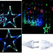 Mix Color 12 Twinkling Star Fairy String Lights Window Display 138LED Xmas Party