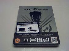 The Wolverine 3D STEELBOOK (Blu-ray Disc, Korea) REGION FREE RARE OOP