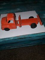 Vintage Structo Orange Pressed Truck