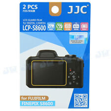 JJC 2PCS LCD Guard Film Camera Screen Protector for Fujifilm Finepix S8600