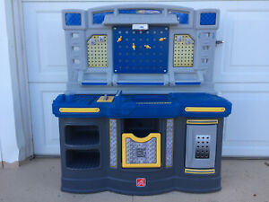 Step2 Big Builders Pro Workshop Play Work Bench with Play Tool Set For Toddlers