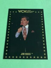 1991 WCW JIM ROSS # 15 CHAMPIONSHIP MARKETING CARD RC? Later joined WWE