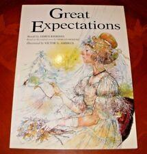 Cartel De Regalo grandes expectativas Obama esperanza Charles Dickens Arte Foto Print