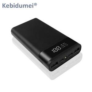 Power Bank 20000mAh LED Display Flashlight Fast Charging USB Phone Charger 2020