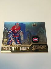 Patrick Roy Canadiens 2015-2016 Upper Deck MVP Territories #214