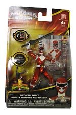 "Power rangers mighty morphin 20th anniversaire rouge ranger 3.75"" figure nice!"