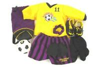 Pleasant Company American Girl Retired Shooting Stars Soccer Outfit Set