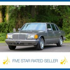 1987 Mercedes-Benz S-Class 560SEL SUPER LOW 87K Video Rare Collectible CARFAX