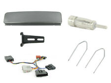 CTKFD20 Ford Galaxy Single Din Car Stereo Fitting Kit stalk & control SILVER