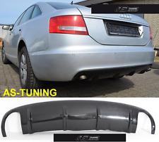 Diffusor RS6-Look für AUDI A6 C6 4F Limousine 04-08 Bj. + Kleber