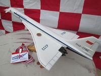 Tupolev Tu - 144 Aeroflot CCCP Riesig 1:100/ Avion / YAKAiR  Woodmodel Aircraft