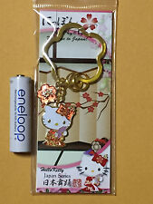 F/S Hello Kitty Japanese Style Japanese Dance Key Holder from Japan