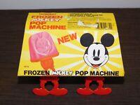 VINTAGE KITCHEN WALT DISNEY FROZEN MICKEY MOUSE POP MACHINE NEW NOS