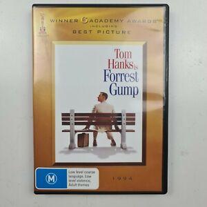 Forrest Gump DVD - 2 Disc Set - Tom Hanks - Region 4 PAL - FREE TRACKED POSTAGE