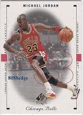 1998-99 UPPER DECK SP AUTHENTIC #4: MICHAEL JORDAN - NBA/FIBA HALL OF FAME