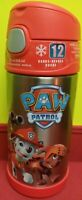 Thermos Funtainer Beverage Insulated 12 oz Bottle Paw Patrol Chase Red NEW