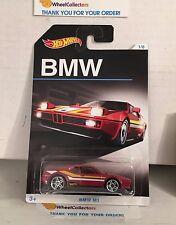 BMW M1  #1 * RED * BMW Series Hot Wheels * A14