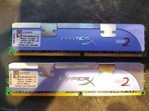 Kingston Hyper X DDR2 4GB (2x 2GB) Ram - KHX6400D2K2/4G