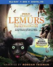 NEW Island Of Lemurs Madagascar Blu Ray 3D DVD Rated G Open Packaging
