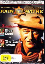 (THE DUKE) JOHN WAYNE - BLUE STEEL & THE LUCKY TEXAN  - DVD Region 0  (NEW)