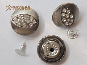 button Jeans Buttons 20mm cast iron jeans button