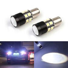 SOCAL-LED 2x CREE 1156 Back up Bulbs Reverse Tail Light Super Bright Xenon White