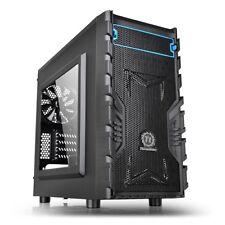 VERSA H13 Mini Tower PC Gaming Case Nero Micro ATX, Mini ITK, COMPATIBILE NUOVO TH