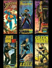 Aurora Superman Green Beret Musketeer James Bond 007 Uncle Sticker or Magnet