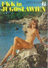 Nudisten FKK Magazin Sonnenfreunde Sonderheft Nr.6 - FKK in Jugoslawien
