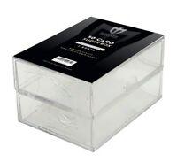 Lote de 5 Max Pro béisbol//Trading Card 2-Row Caja de almacenamiento cajas de zapatos graduada
