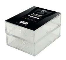 Lot of 4 Max Pro 50 Count Baseball Trading Plastic Card Slider Boxes 2-piece box