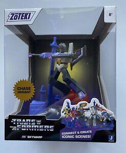 Jazwares Zoteki Transformers CHASE Variant Figure - Skywarp Rare Figure Toy