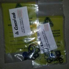 New listing Qty 2 Cressi SCUBA regulator SERVICE KIT  Qty 2 AC10 1st Stage  HZ 735050