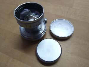 Leica Ernst Leitz Summitar 50mm f/2 lens LTM L39 screw mount
