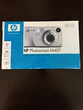 Used in Box HP Digital Photosmart Camera M407 With HP Instant Share GOOD Cond