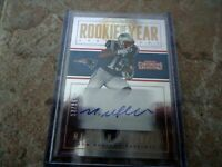 2016 PANINI CONTENDERS ROOKIE AUTO MALCOLM MITCHELL NEW ENGLAND PATRIOTS MINT 13
