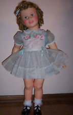 ORIGINAL IDEAL SHIRLEY TEMPLE DRESS FOR 35 INCH  PATTI PLAYPAL 36