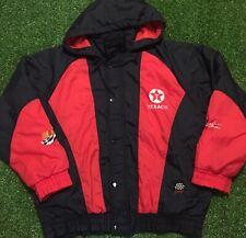 Vintage 90's Texaco Havoline Racing Black/Red Jacket Size Xl