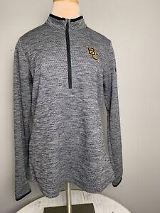 Nike Golf 1/2 Zip • Baylor University • Women's Size M Medium • Heather Gray