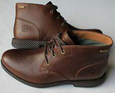 NIB Timberland City's Edge GTX Chukka Gore-Tex Dark Brown Boots 8 M $160