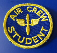 ARMY AIR CORPS AIR CREW STUDENT SLEEVE PATCH